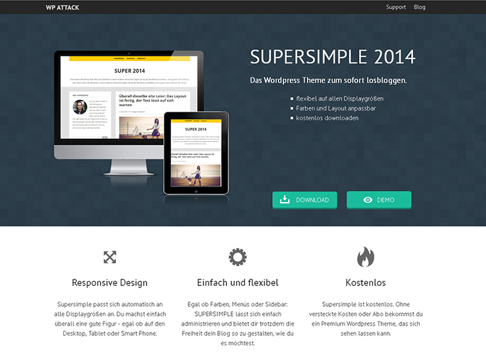 Wordpress Theme Super
